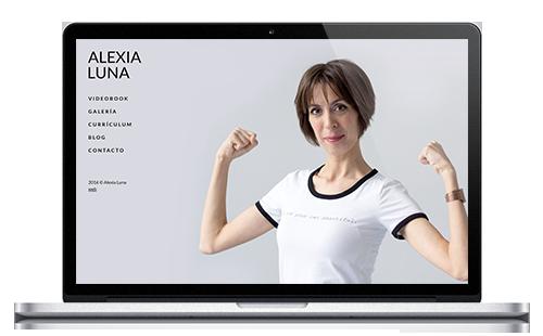 Alexia Luna | Web Actriz