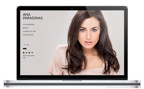 Ana Paradinas | Web Actriz