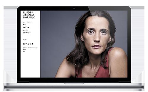 Lurdes Jiménez - Web Actriz