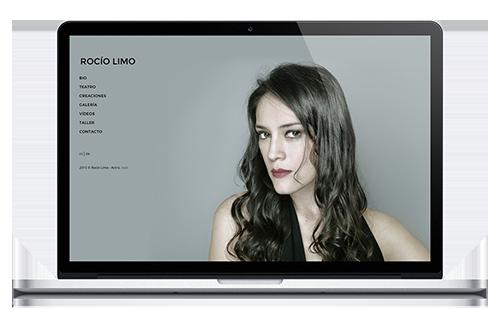 Rocio Limo - Web Actriz
