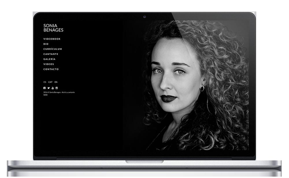 Sonia Benages - Web Actriz