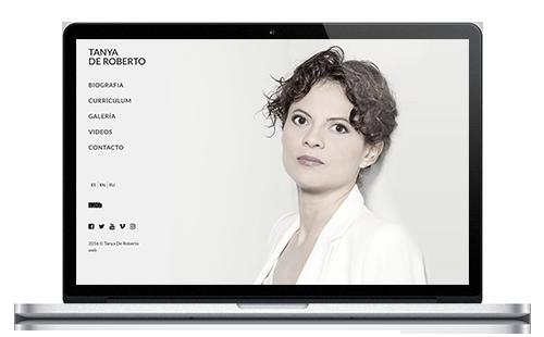 Tanya de Roberto | Web Actriz